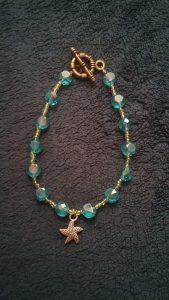 Glass Sea Inspired Bracelet $8.50