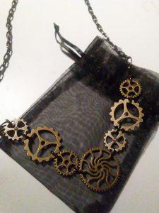 Clockwork Necklace $26.00
