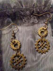 Gears of Love Earrings $21.00