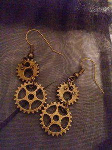 Clockwork Earrings $10.00